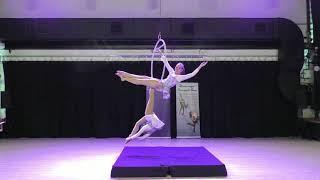 Виктория Егорова и Валерия Кремезная - Catwalk Dance Fest IX[pole dance, aerial]  30.04.18.