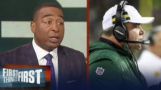 Cris & Nick blame Mike McCarthy for Packers' loss to the Seahawks on TNF | NFL | FIRST THINGS FIRST