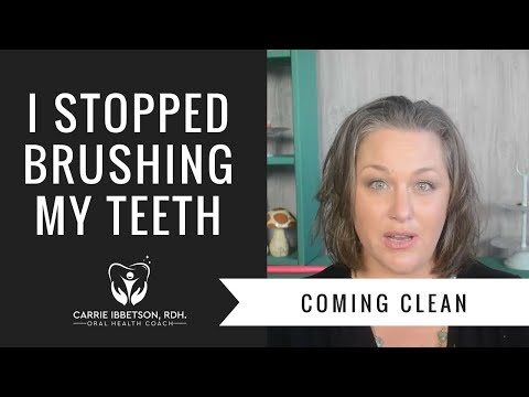 Coming Clean | Why I Stopped Brushing my Teeth & My Journey to a Healthy Mouth