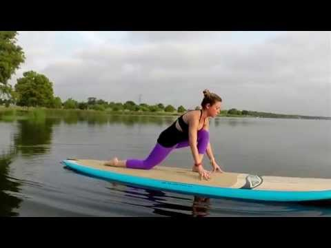 ACK SUP Yoga 101: Beginners Flow on a SurfTech Balboa Bamboo SUP Board