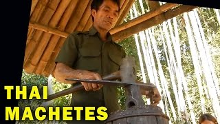 How Blacksmiths make Traditional Thai Machetes - Stafaband