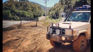 4wd Tasmania - Montezuma Falls Track ( 76 Series & Patrol)