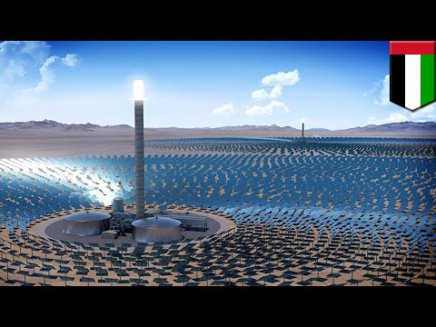 Dubai solar park: Dubai green lights world's largest concentrated solar project - TomoNews