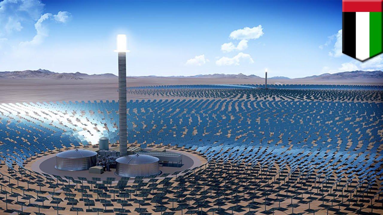 Dubai Solar Park Dubai Green Lights World S Largest