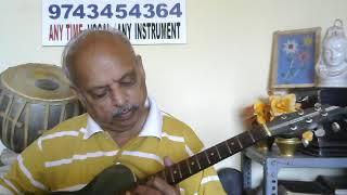 "Chalte Chalte""GUITAR MUSIC""hindi( Kishore Kumar song) by VISWANATHA LS from JK MUSIC CLASSES"