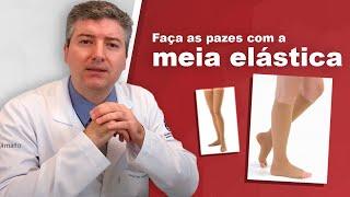 Compressão elástica de dvt meias
