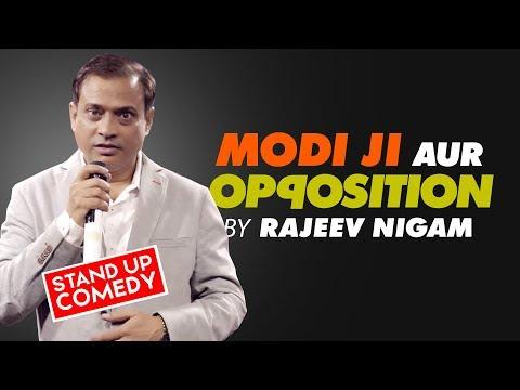 MODI JI aur OPPOSITION 😄 HILLARIOUS  Act By RAJEEV NIGAM