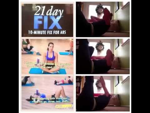 21 Day Fix - 10 Minute Fix for Abs (2014) — The Movie