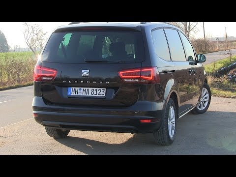 2019 Seat Alhambra 2.0 TDI (150 HP) TEST DRIVE