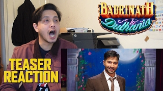 Badrinath Ki Dulhania Teaser Trailer Reaction | Varun Dhawan | Alia Bhatt | Karan | By Stageflix