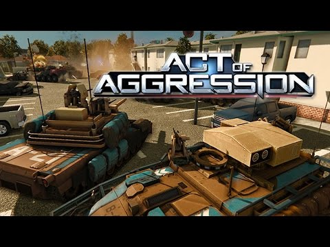 Act of Aggression (First Impressions YouTube Live Stream Test!)