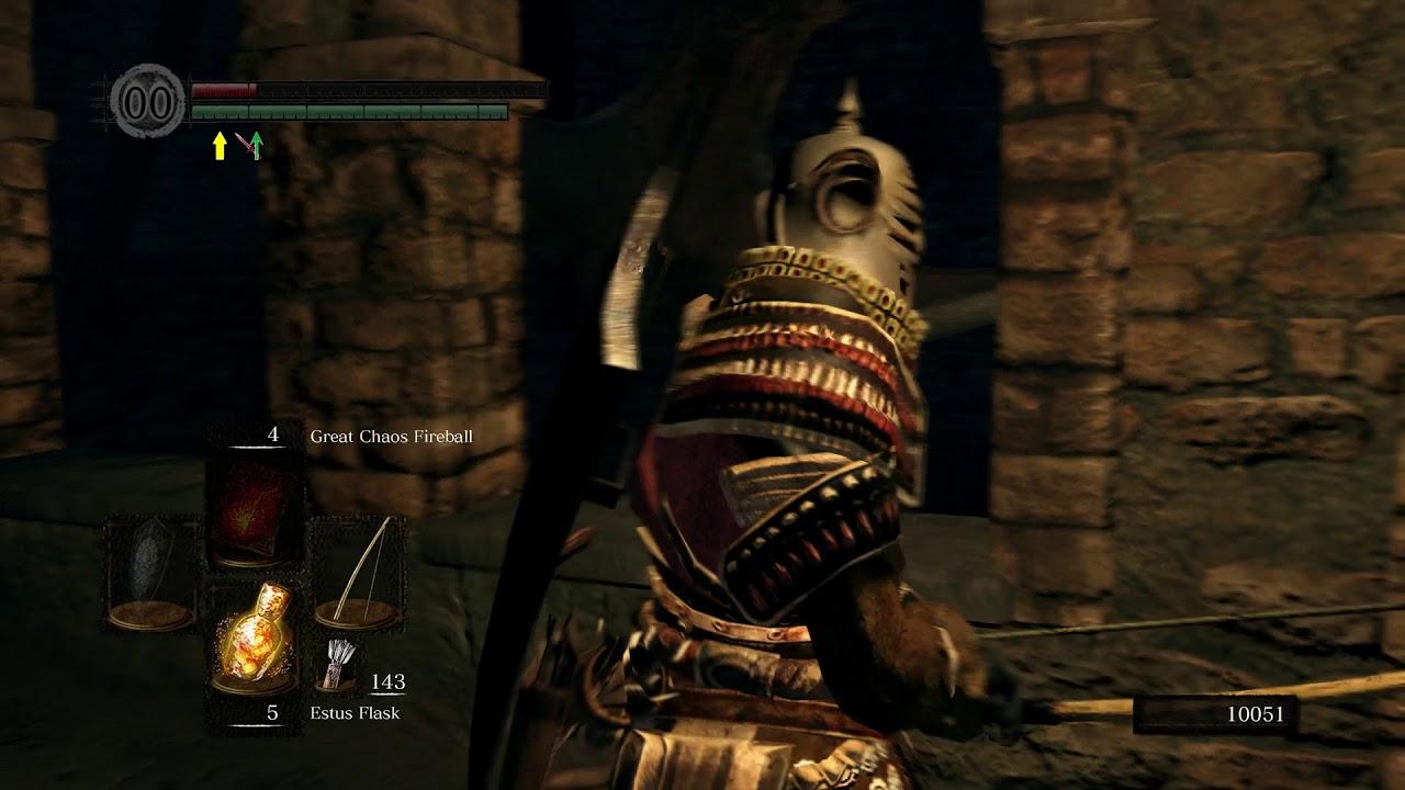 Dark Souls Remastered Sens Fortress 1st Ten Minutes Man