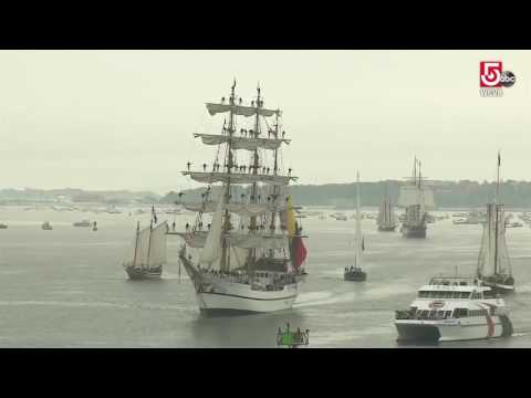 Sights and sounds of Sail Boston 2017