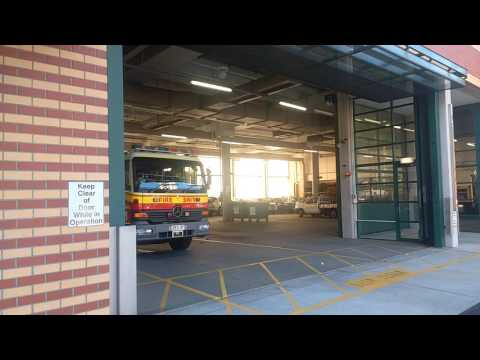 591 Annerley responding to fire alarm