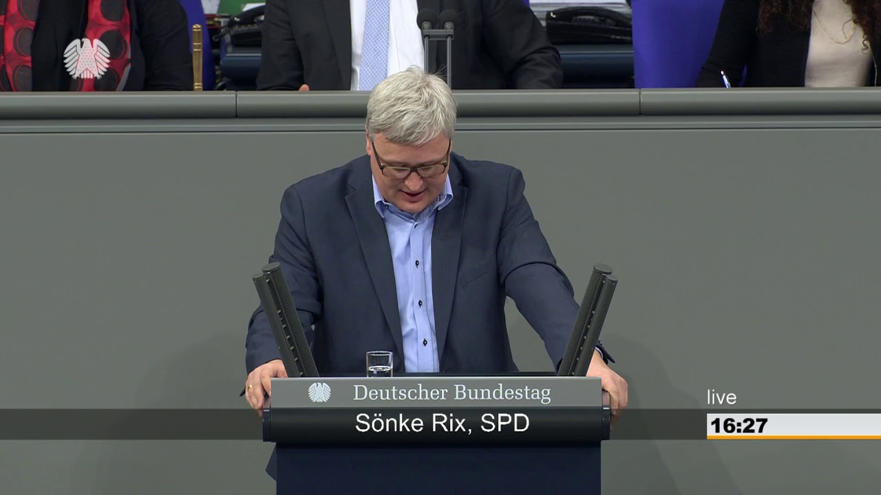 Sönke Rix: Familie, Senioren, Frauen und Jugend [Bundestag 22.03 ...