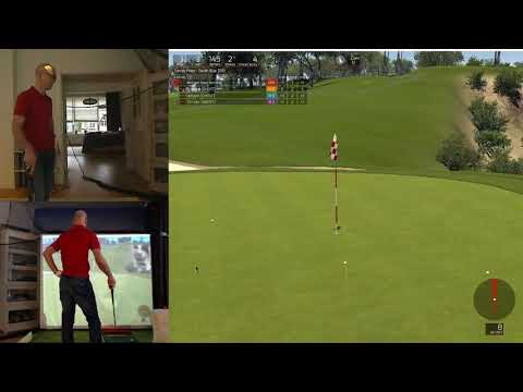 Farmers Insurance Open day 1 - Torrey Pines - Played on SkyTrak and TGC