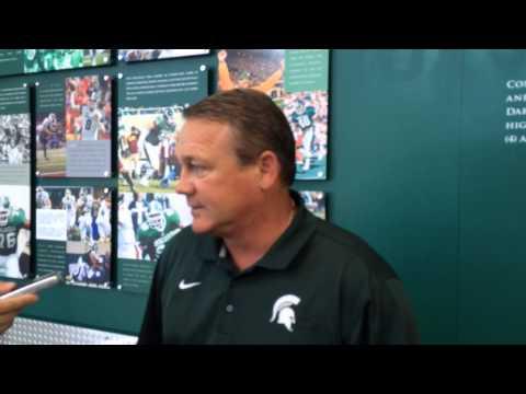 MSU LB coach Mark Snyder discusses Shane Jones