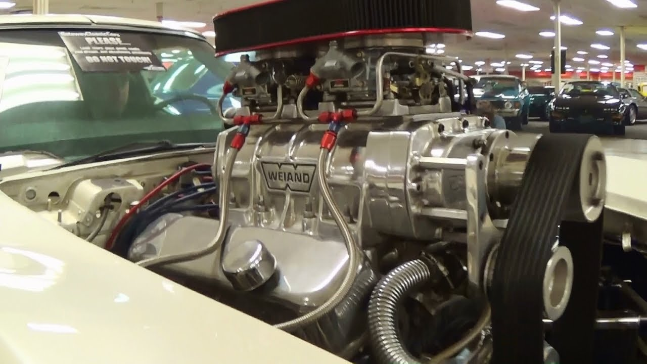 900 Hp Supercharged Big Block 1972 Corvette Stingray Pro