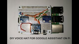 Make Your Own AIY Projects Kit Google Voice HAT | DIY AIY Projects Kit Voice HAT