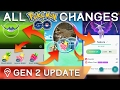 HERE'S *EVERYTHING* THAT CHANGED IN THE POKÉMON GO GEN 2 UPDATE