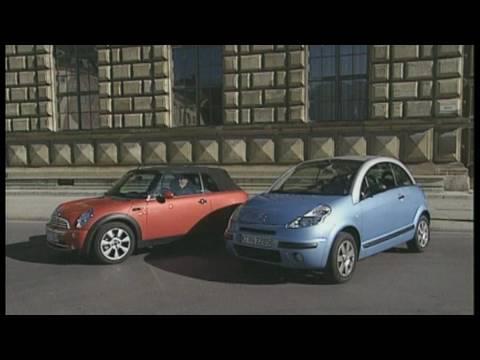 Mini Cooper Cabrio vs. Citroen C3 Pluriel 1.6: Kleine Cabrios im Vergleich