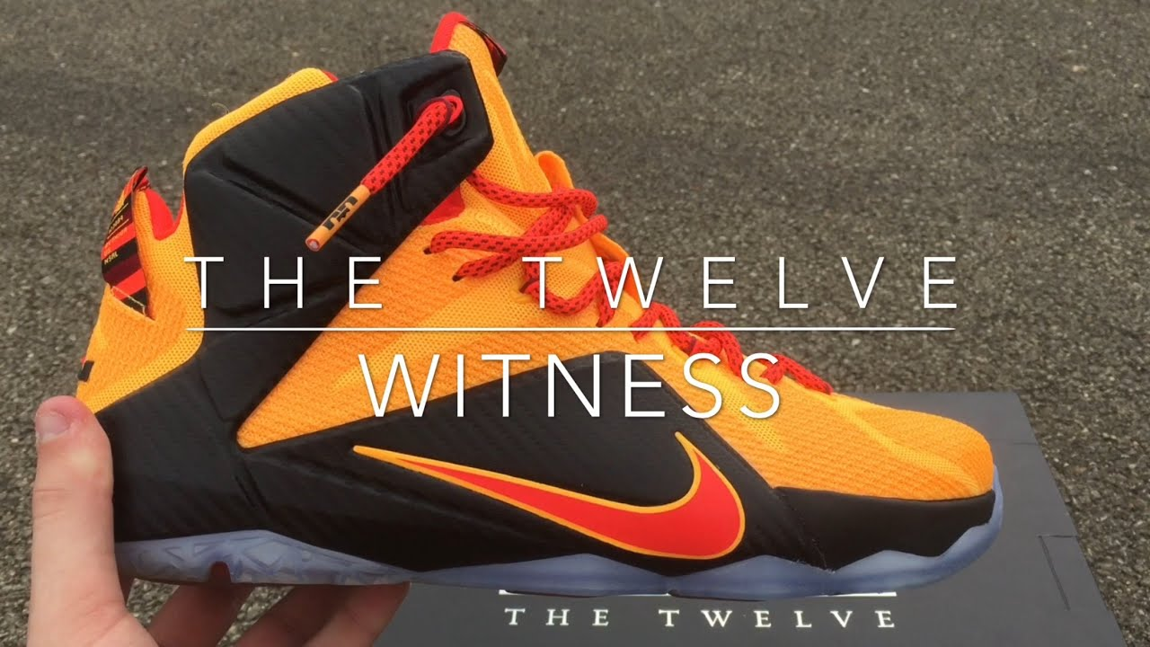 size 40 4f20a 30862 NIKE LEBRON 12  WITNESS  REVIEW W ONFEET🏀👟
