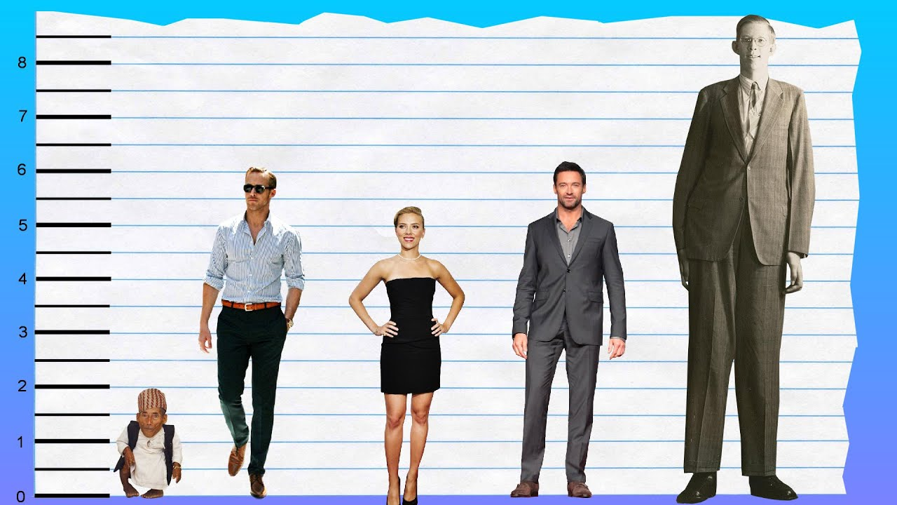 How Tall Is Ryan Gosling? - Height Comparison! - YouTube