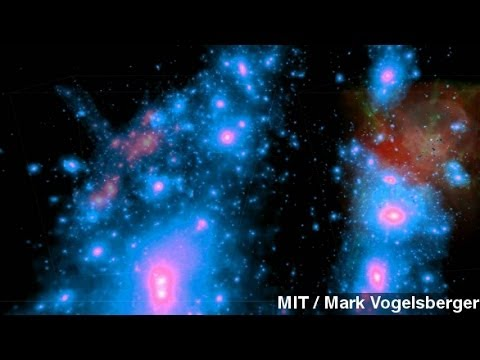 New Simulation Shows Evolution Of The Universe
