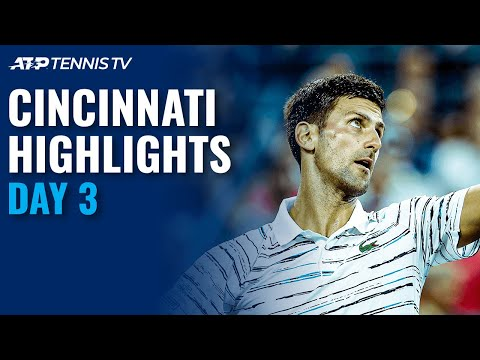 Djokovic Keeps Streak Alive; Murray Turns Back Clock  | Cincinnati 2020 Highlights Day 3