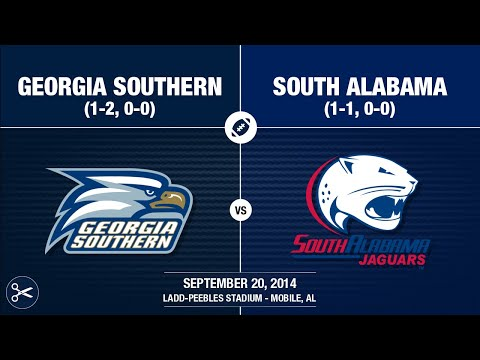 2014 Week 4 - Georgia Southern at South Alabama (Quick-Cut)