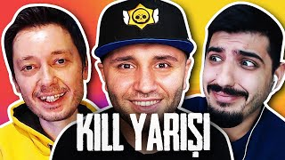 3 Facecam Fun Kill Race! @Onur Bilge and @arun Kilic Brawl Stars