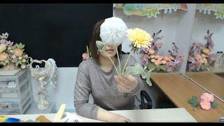 Бесплатный мастер-класс «Объемная картина с одуванчиками». Мастер Наталья Дроздова.