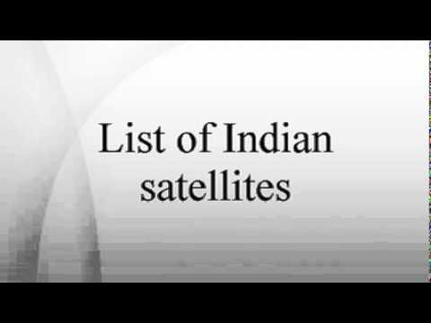 List of Indian satellites