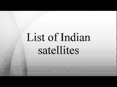 write about artificial satellites of india