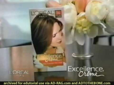 L'Oreal Excellence Haircolor Commercial with Andie MacDowell (Home Sweet Home)