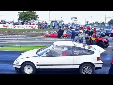 Wilmer crx blanca (Santiago) VS (SJM) Diego Crx Roja  - autodromo sunix