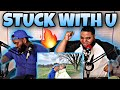 Ariana Grande & Justin Bieber - Stuck with U (Official Video) - (REACTION)