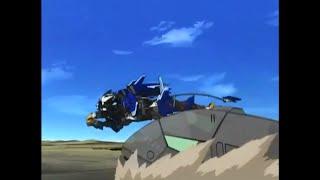 Zoids New Century - Liger Zero Jager vs Warshark