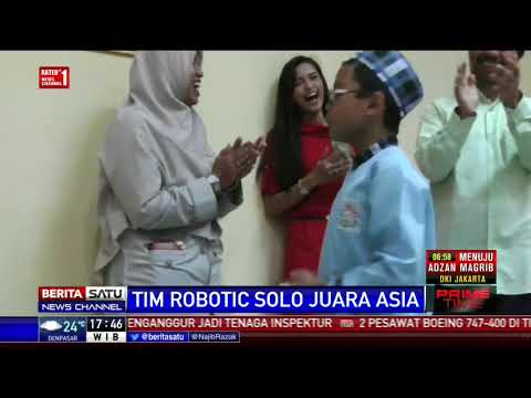 Tim Robotic SD Al-Firdaus Raih 7 Penghargaan di Tingkat Asia