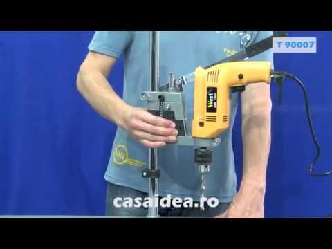 TROY 90007 Suport Bormașină Reglabil (420mm)