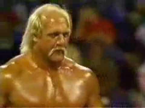 [WWF] 1990 - HULK HOGAN U0026 ULTIMATE WARRIOR Vs MR.PERFECT U0026 GENIUS