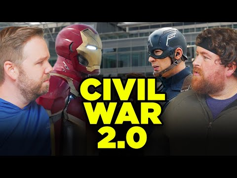 CAPTAIN AMERICA CIVIL WAR: Which Side Was Right? | Fitness Challenge Episode 7