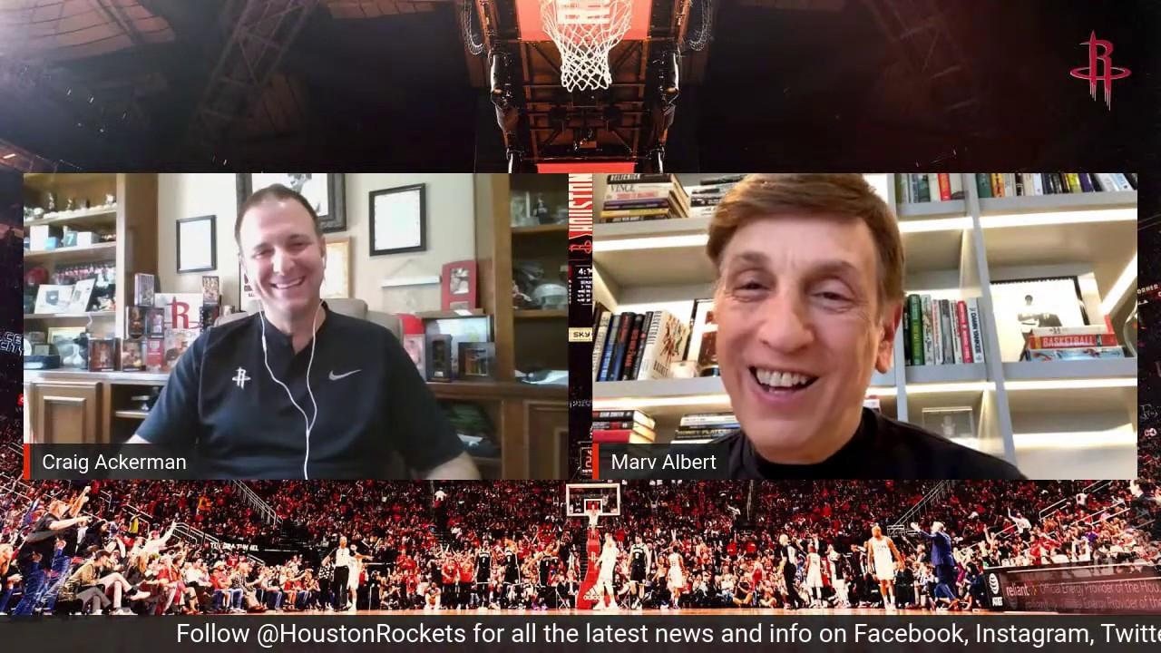 Rockets LIVE with Marv Albert