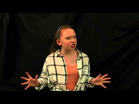 Sydney Norgaard Audition - Big Fish - The Witch