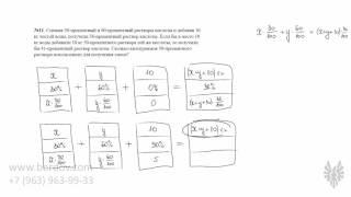 Задачи 11 — смеси, сплавы и проценты