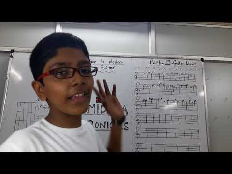 Western styles guitar lessons _ Part III