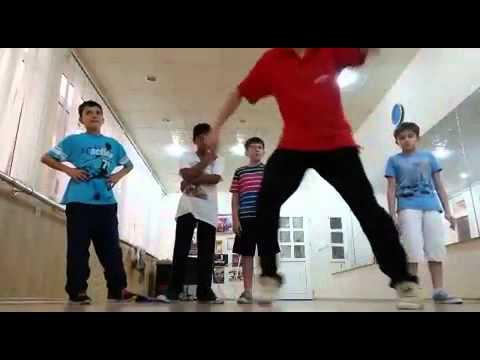 B Boys in Jet Dance Studio