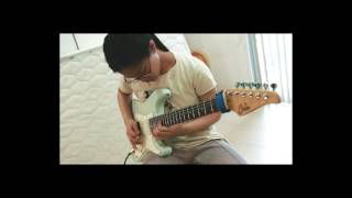 Jerry C - Canon Rock (Cover Guitar By 13 Years Old Girl) [Fah-Rada]