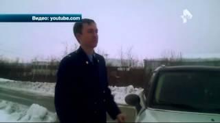 Прокуратура ЯНАО заинтересовалась видео, где пьяный помощник прокурора врезался в дом
