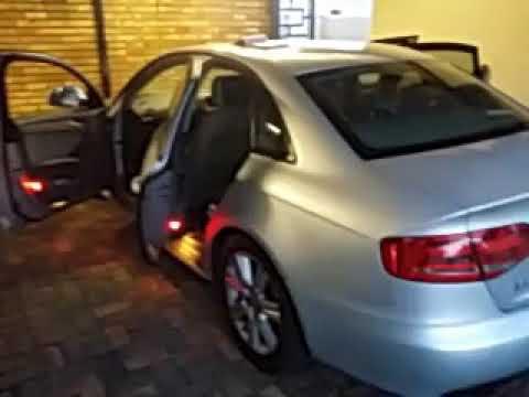 Audi 2008 B8 Emergency trunk open